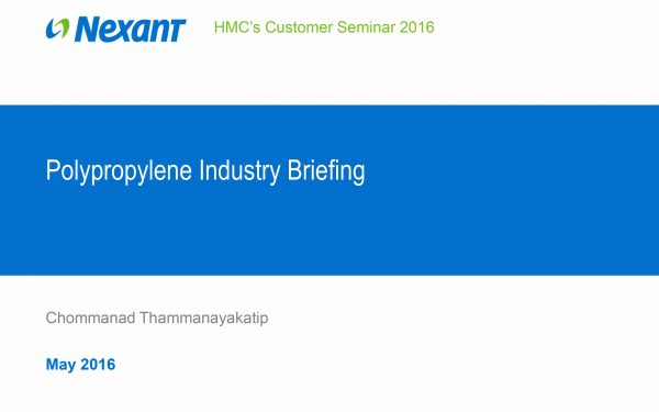 Polypropylene Industry Briefing