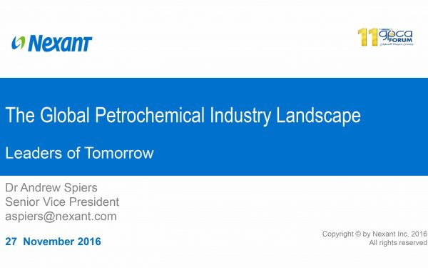 The Global Petrochemical Industry Landscape