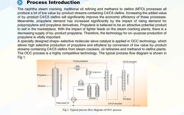 معرفی تکنولوژی OCC شرکت سینوپک چین