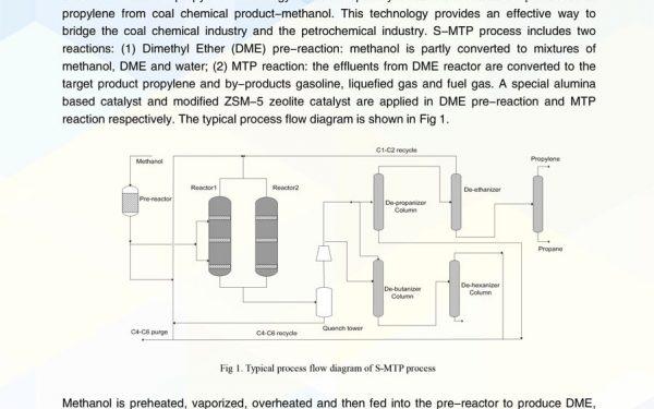معرفی تکنولوژی MTP شرکت سینوپک چین