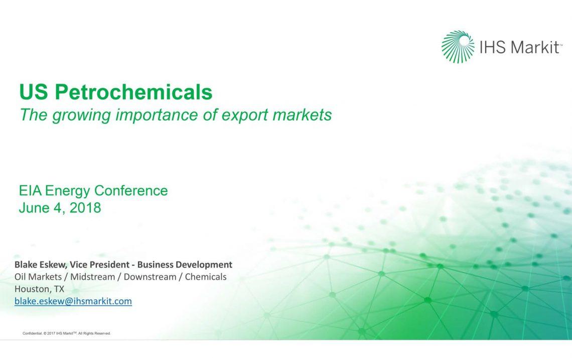رشد صادرات صنایع شیمیایی و پتروشیمی آمریکا